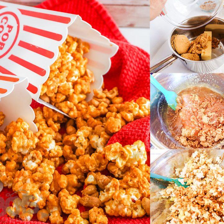 Cracker Jack Party Mix Recipe