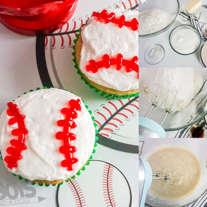 Fun & Easy Baseball Cupcakes Recipe