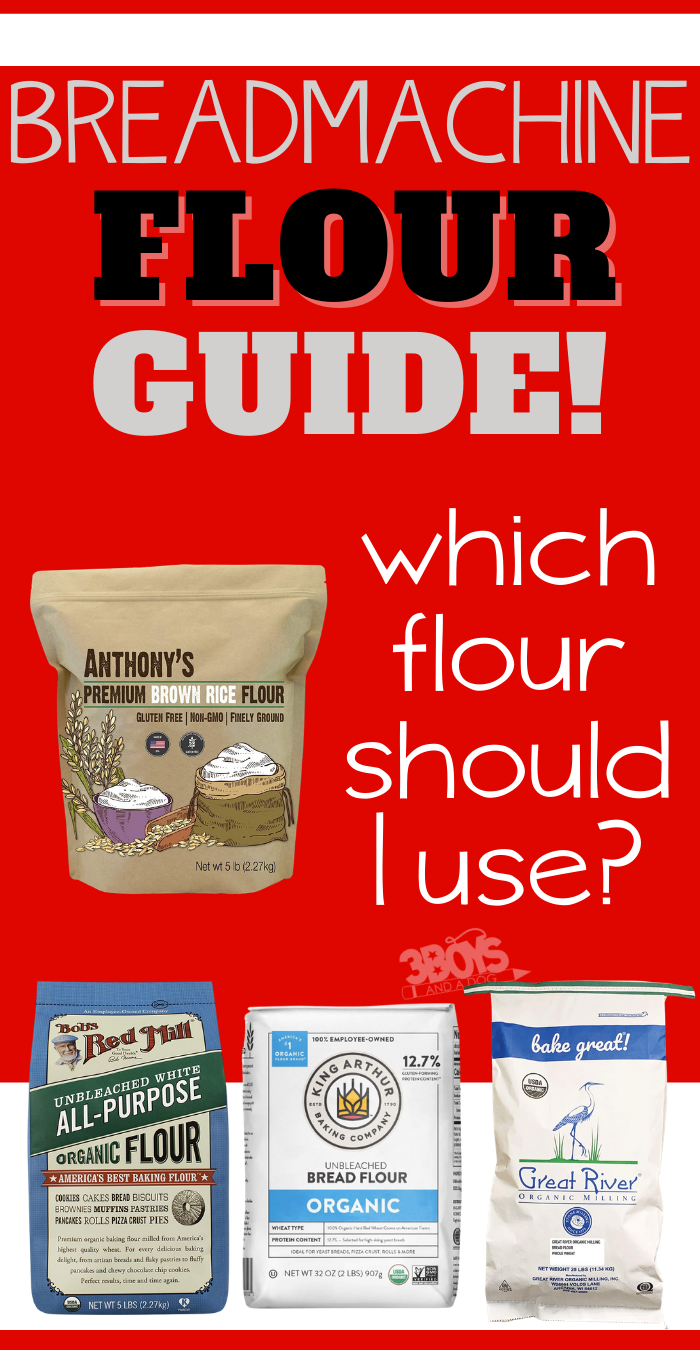 which flour should I use in my bread maker