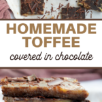 chocolate covered toffee candy recipe