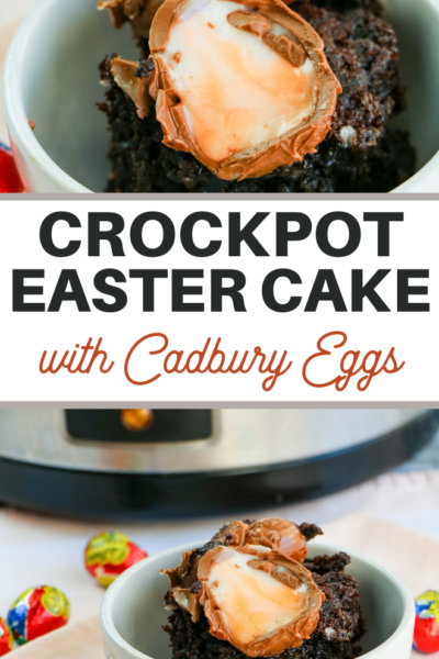 cadbury egg dump cake