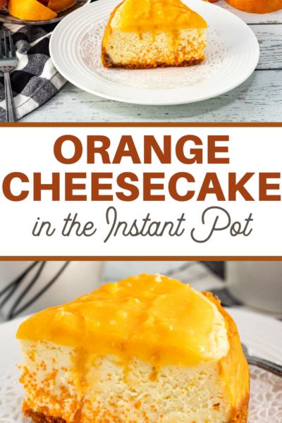 orange creamsicle flavored cheesecake