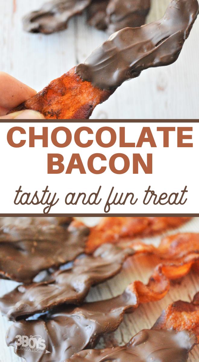 easy chocolate coated bacon recipe
