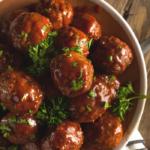 crockpot meatballs recipe