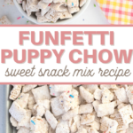 this snack mix recipe comes together quickly for a delicious sweet treat
