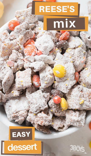 reese pieces puppy chow recipe