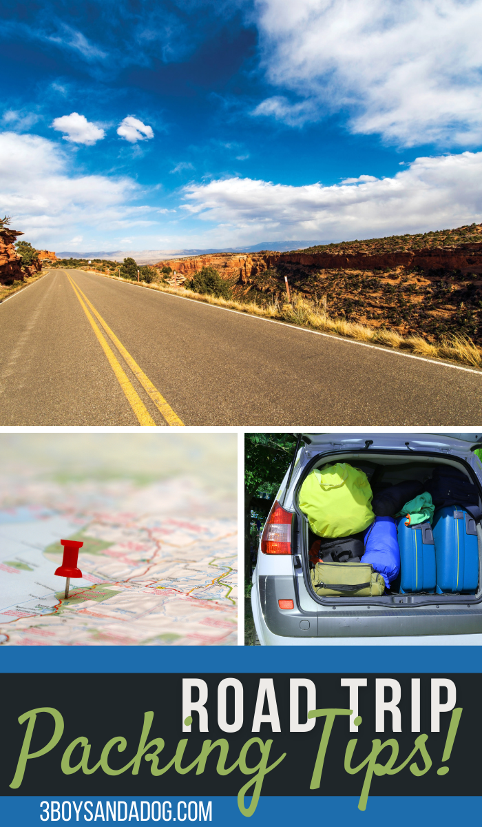 things to remember to pack for your next road trip