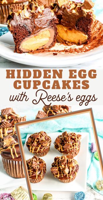 reese egg cupcake recipe