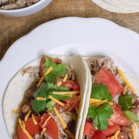 crockpot pork taco recipe