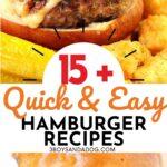 hamburger patty recipes