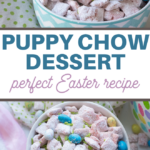 sweet and crunch easter snack mix