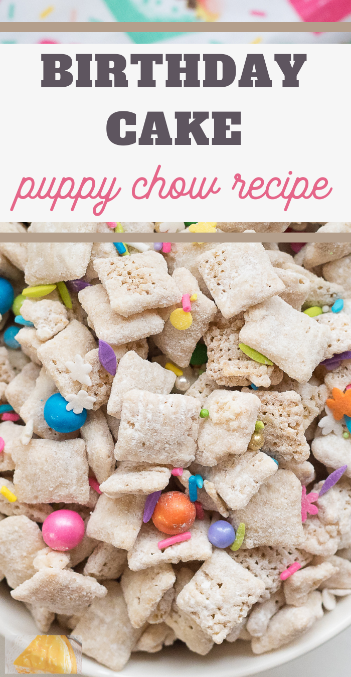 sweet chex mix snack recipe that tastes just like cake
