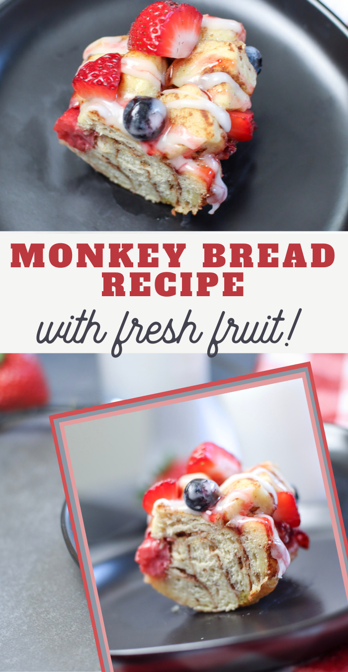 red white and blue breakfast recipe