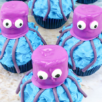 candy melts dipped marshmallows make this easy octopus