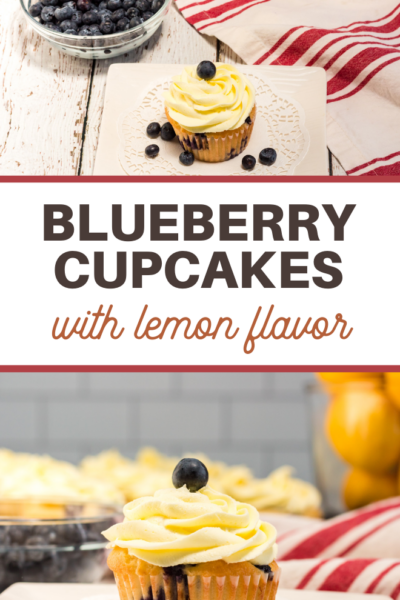 lemon and blueberry cupcake recipe