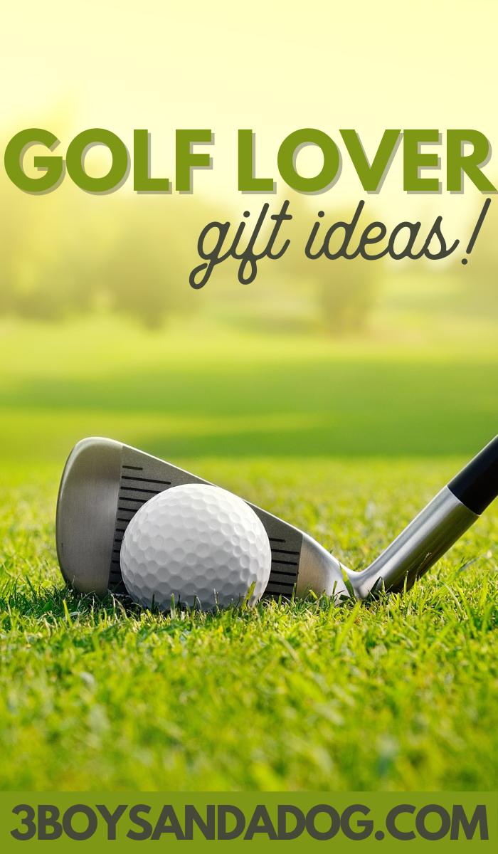 golf lover gift ideas