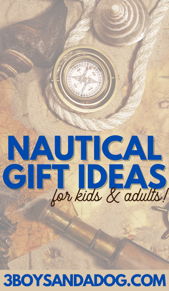 nautical ropes and anchors gift ideas for kids and adults gift ideas