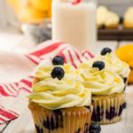 lemon blueberry cupcakes recipe