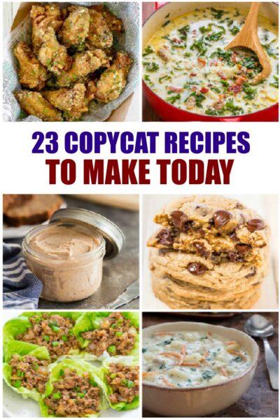 easy copycat recipes
