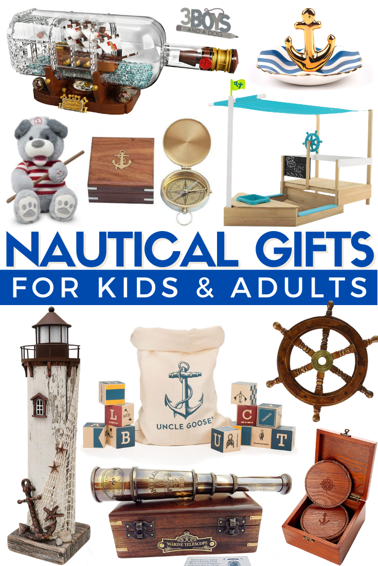 great present ideas for a nautical themed party