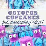 easy octopus cupcakes