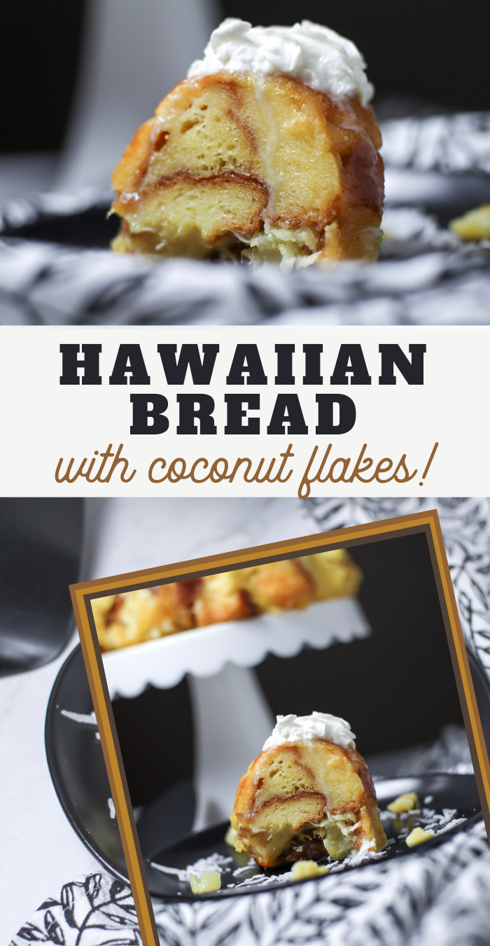 pineapple bread with toasted coconut shavings