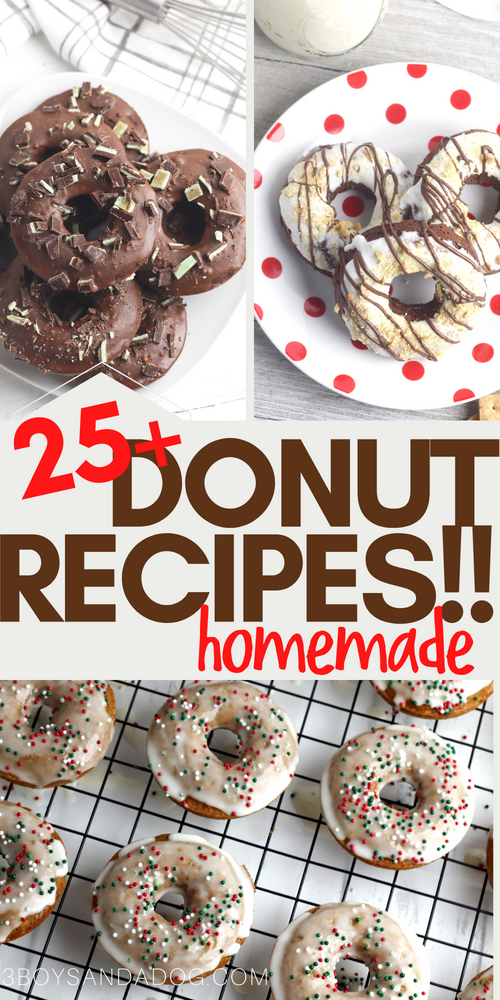 25 plus yummy donut recipes to make today