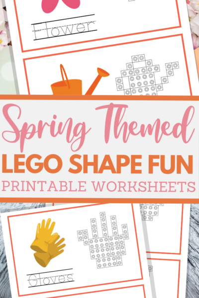 simple lego shape worksheets for spring