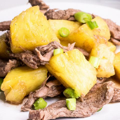 pineapple beef stir fry recipe