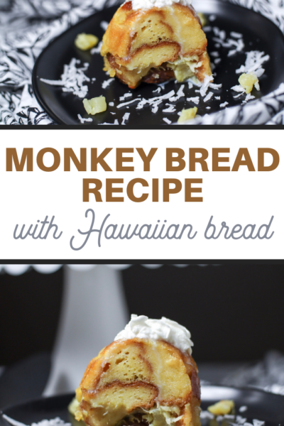sweet monkey bread recipe for your next luau