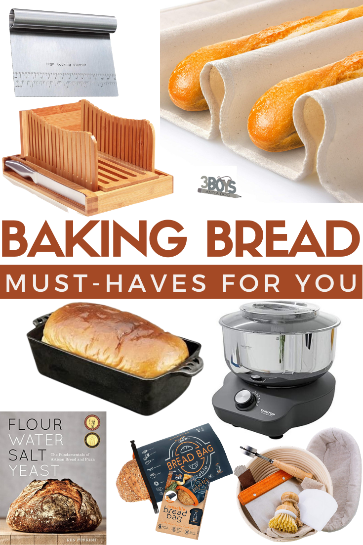 bread baker tools and fun products
