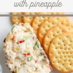 tropical cheese ball appetizer