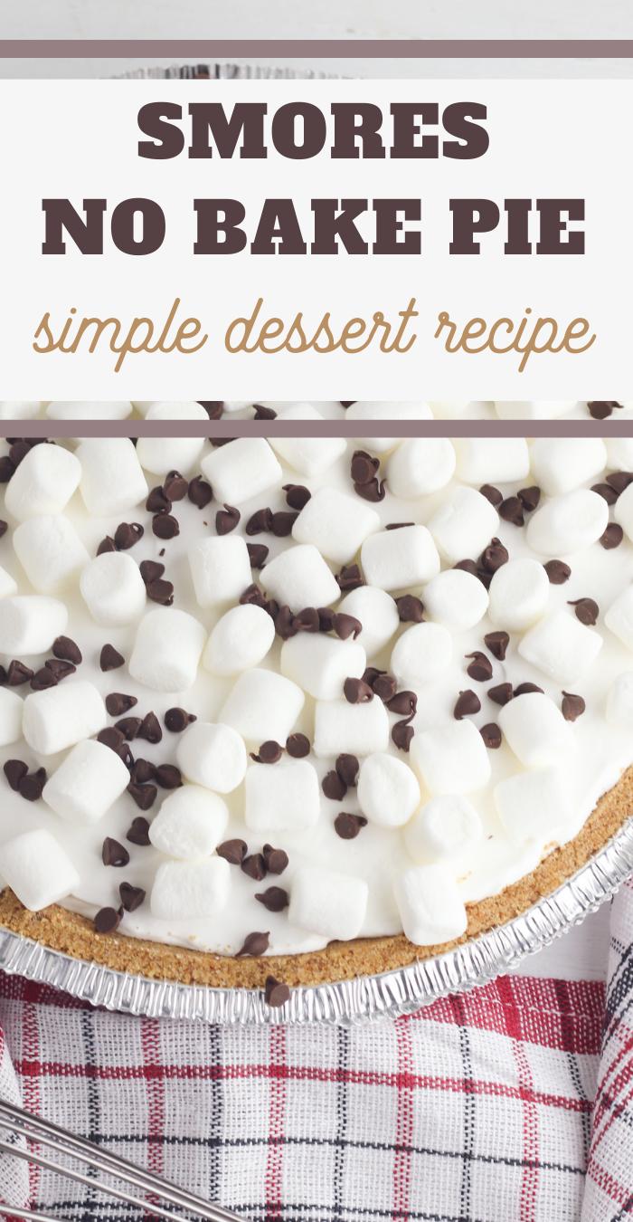 smores pudding pie recipe