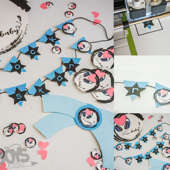 Music Themed Baby Shower Decorations