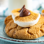 easy peanut butter smores