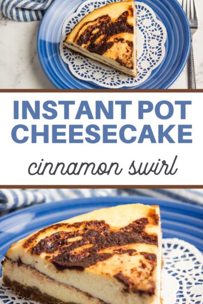 instapot cheesecake recipe