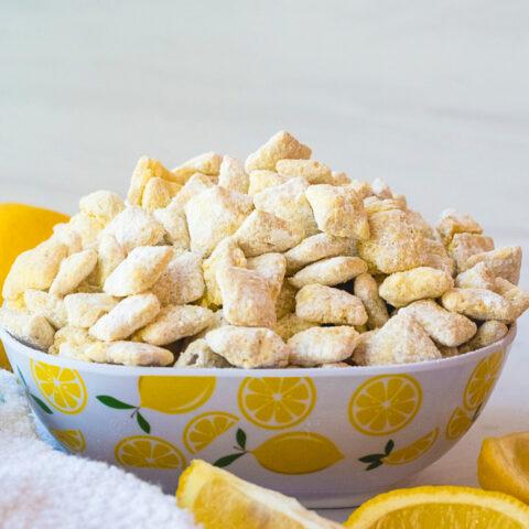 Easy Lemon Puppy Chow Recipe