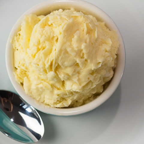 3-Ingredient No Churn Mango Ice Cream Recipe