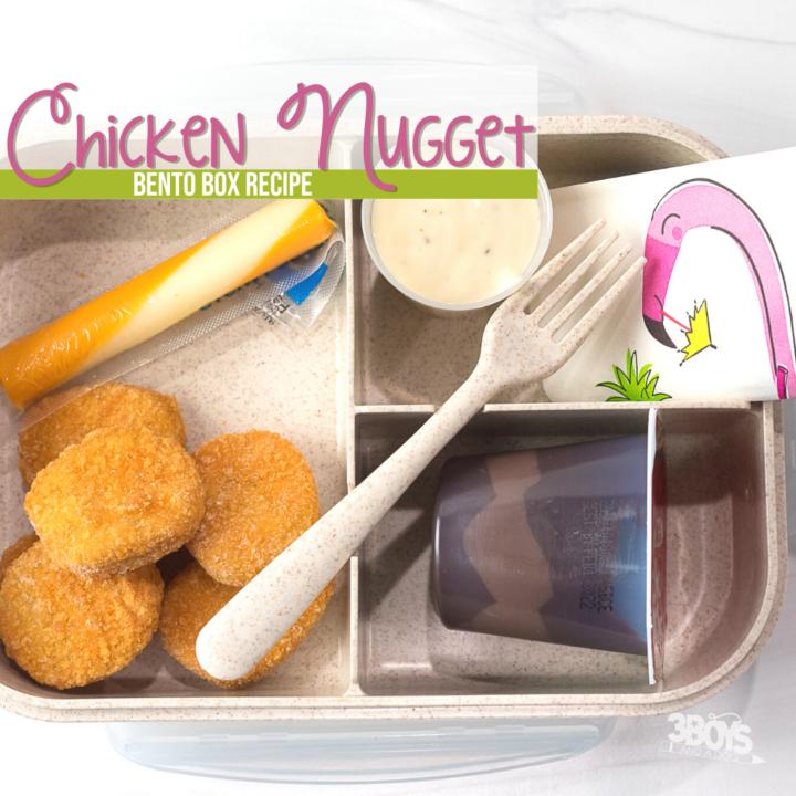 Chicken Nugget Bento Lunch Recipe