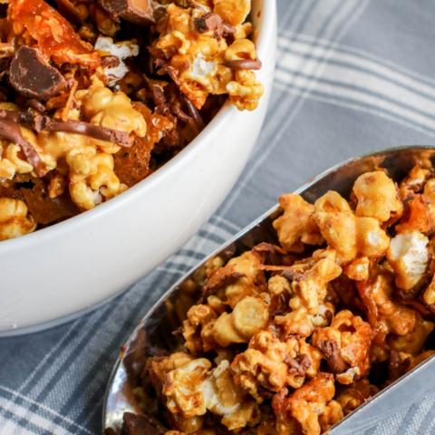 Rolo Popcorn Recipe