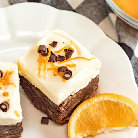 Fudgy Orange Brownies Recipe